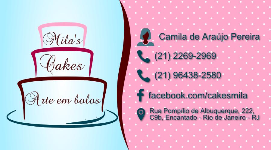 Favoritos Mila's Cakes - 2MVs IS57